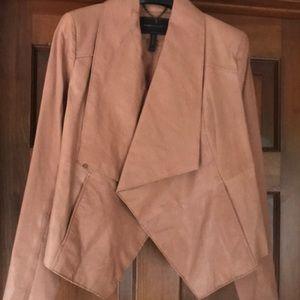 Bcbgmaxazria leather jacket